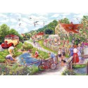 Summer by the Stream 1000 Jigsaw Puzzle Fiona Osbaldstone