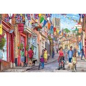 Steep Hill 1000 Jigsaw Puzzle Steve Crisp