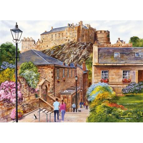Edinburgh - The Vennel 1000pc puzzle Terry Harrison