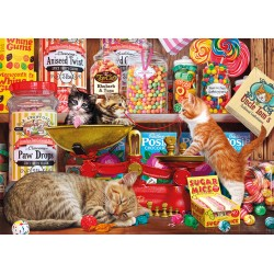 Paw Drops & Sugar Mice 1000 Jigsaw Steve Read