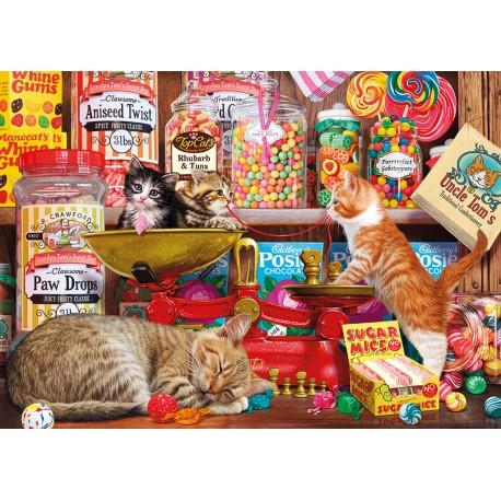Paw Drops & Sugar Mice 1000 Jigsaw Steve Read