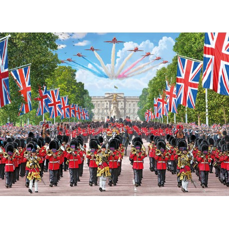 Trooping the Colour 1000 Jigsaw Puzzle Steve Crisp