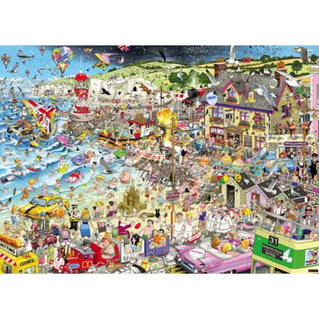 I Love Summer Mike Jupp 1000 Jigsaw Puzzle