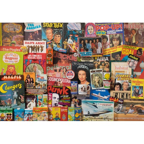 Spirit of the 70s Jigsaw Puzzle Robert Opie