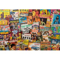 Spirit Of the 60s Jigsaw Puzzle Robert Opie