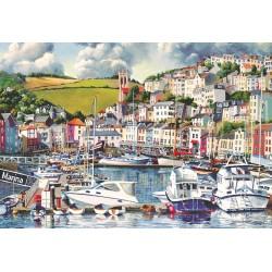 Brixham Marina 500pc Jigsaw Puzzle John Gillo