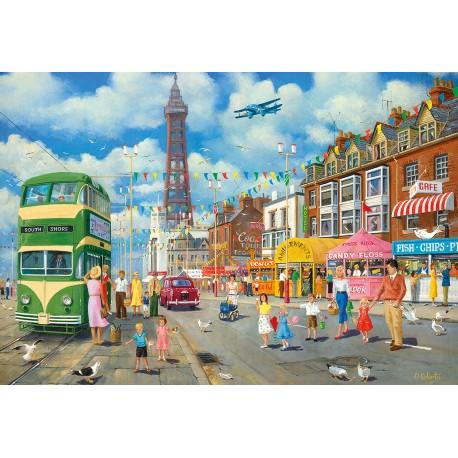 Blackpool Promenade Derek Roberts