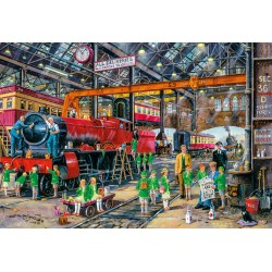 The School Outing Jigsaw Puzzle Derek Roberts