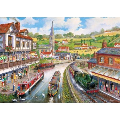 Ye Olde Mill Tavern 500XL Jigsaw Puzzle Derek Roberts