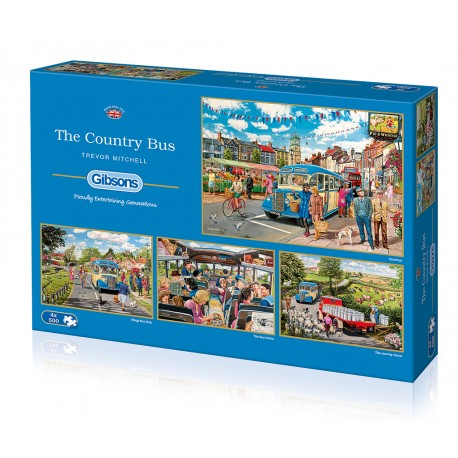 The Country Bus 4x500 Jigsaw