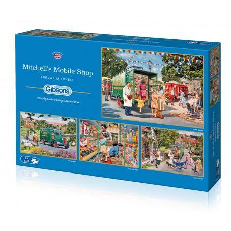 Mitchell's Mobile Shop 4x500 Jigsaw