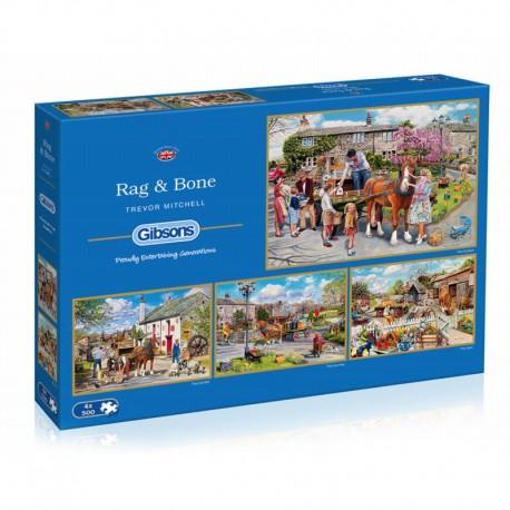 Rag & Bone 4x500 Jigsaw