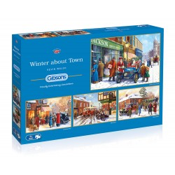 Winter About Town 4x500 Jigsaw