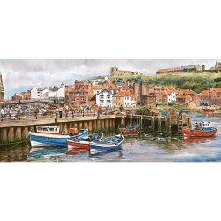Whitby Harbour High Quality 636 Piece Jigsaw Puzzle