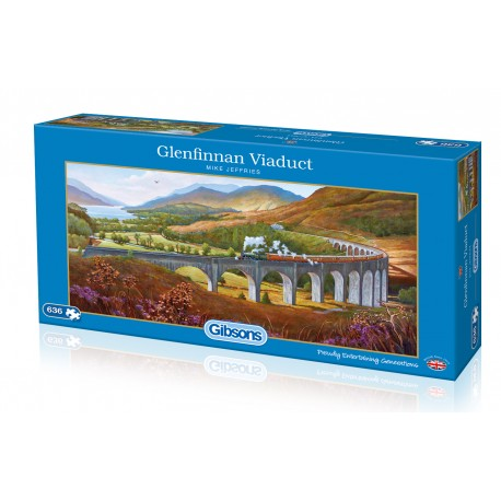 Glenfinnan Viaduct 636 piece jigsaw puzzle
