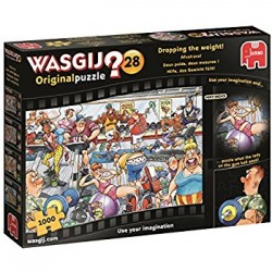 Wasgij Original 28 - Dropping the Weight - 1000pc Jigsaw Puzzle