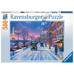 Ravensburger Winter in Paris 500 piece christmas jigsaw puzzle 14741
