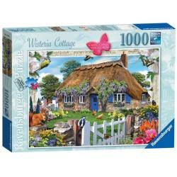 Ravensburger Wisteria Cottage 1000 piece nostalgic jigsaw puzzle 19094