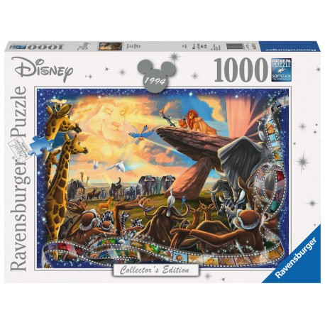 Ravensburger The Lion King 1000 piece disney collectors jigsaw puzzle 19747