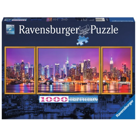 Ravensburger New York Triptochon Panoramic 1000 pieces Jigsaw Puzzle
