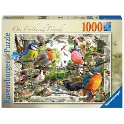 Ravensburger Our Feathered Friends, 1000 piece Jigsaw Puzzle NEW