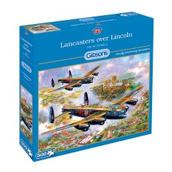 Lancasters Over Lincoln 500 piece jigsaw