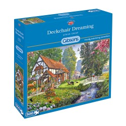 Deckchair Dreaming 500 piece jigsaw