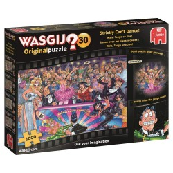 Wasgij 19160 Original 30-Strictly Can't Dance 1000 Piece Jigsaw Puzzle
