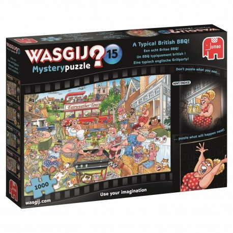 Wasgij 19163 Mystery 15 A Typical British BBQ 1000 Piece Jigsaw Puzzle