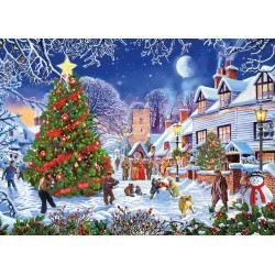The Village Christmas Tree 1000pc puzzle