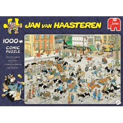 Jan van Haasteren- The Cattle Market- 1000 piece Jigsaw Puzzle