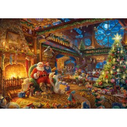 Santa's Workshop 1000pc Jigsaw Puzzle Thomas Kinkade