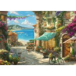 Italian Cafe 1000pc Jigsaw Puzzle Thomas Kinkade