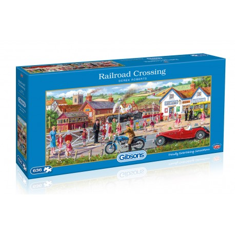 Railroad Crossing 636pc Jigsaw Puzzle