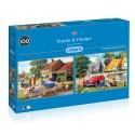 Ponds & Pumps 2 x 500pc Jigsaw Puzzle