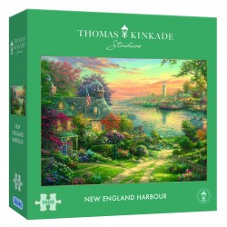 New England Harbour 1000pc Jigsaw Puzzle Thomas Kinkade