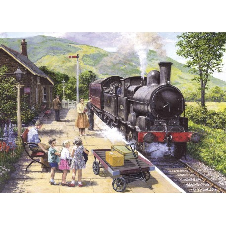 All Aboard the Keswick 1000 piece puzzle
