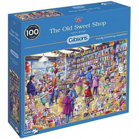 Gibsons The Old Sweet Shop Jigsaw Puzzle 1000 Pieces