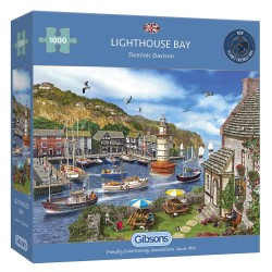 LIGHTHOUSE BAY 1000 PIECE JIGSAW PUZZLE