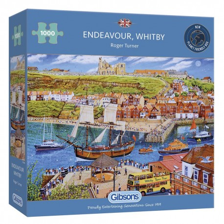 ENDEAVOUR, WHITBY 1000 PIECE JIGSAW PUZZLE