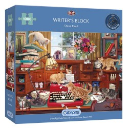 WRITER'S BLOCK 1000 PIECE JIGSAW PUZZLE