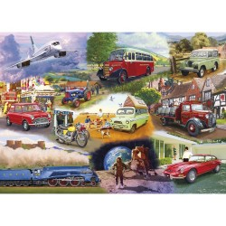 ICONIC ENGINES 1000 PIECE JIGSAW PUZZLE
