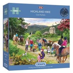 HIGHLAND HIKE 1000 PIECE JIGSAW PUZZLE