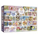PORK PIES & PUDDINGS 1000 PIECE JIGSAW PUZZLE