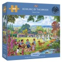 BOWLING BY THE BROOK 500 PIECE JIGSAW PUZZLE