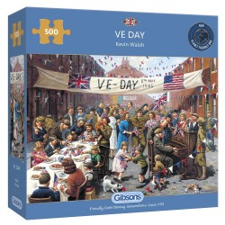 VE DAY 500 PIECE JIGSAW PUZZLE