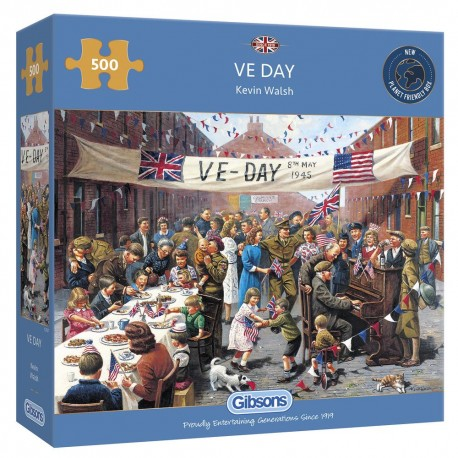 VE Day 500 piece jigsaw
