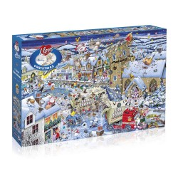 I Love Christmas 1000 Piece Puzzle