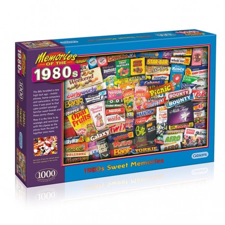 1980S SWEET MEMORIES 1000 PIECE JIGSAW PUZZLE