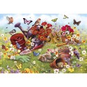 In the Garden 500 Piece Jigsaw Puzzle